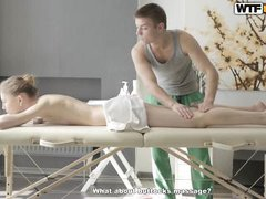 sweet eva receaving a nasty massage