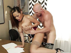 Johnny Sins wants to drill fuck hungry