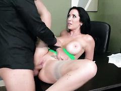 Keiran Lee uses his erect boner to bring Jayden