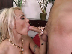 Sonny Hicks buries his rock solid cock